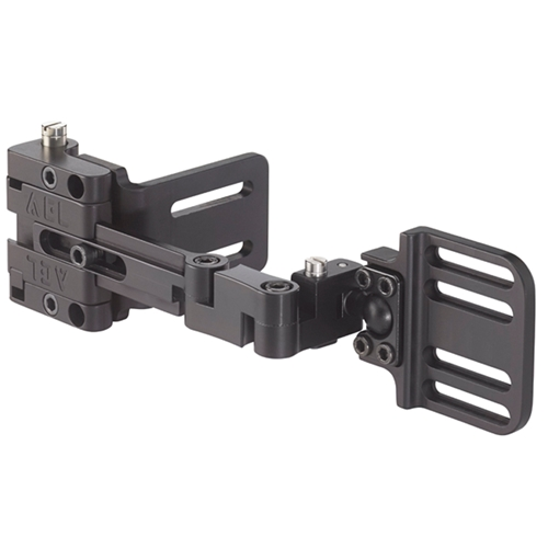 "Omnilink® DSA - Slide Adjust Mount, Swivel, Curved Back, 1"" & 2"" Slot, Right"