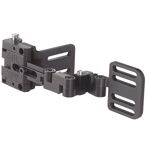 "Omnilink® DSA - Slide Adjust Mount, Rigid, Flat Back/Seat, Track, 1"" & 2"" Slot, Left"