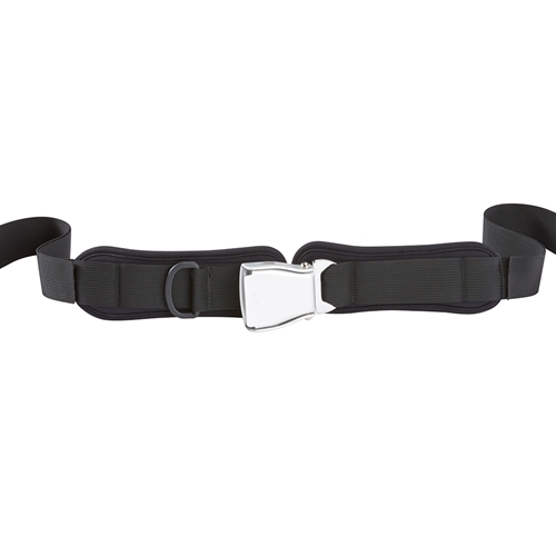 "Hip Belt, Lever Release, 1 1/2"" Webbing, Center Pull, 10""L Pads"