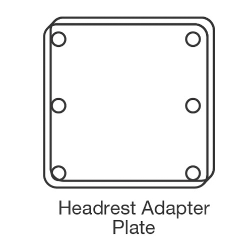 Plastic Shell Back Adapter Plate