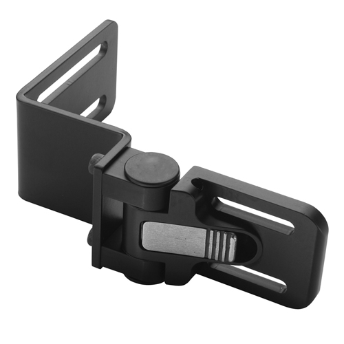 "QuickPlus Lateral Bracket, Z-Style, 1"" Slot Spacing, Heavy Duty, Fits 3"" Seat/Back"